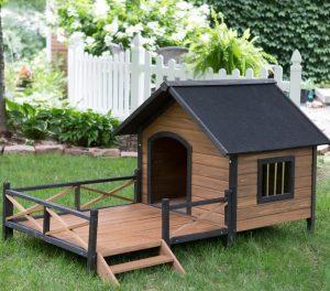 Дом для собаки своими руками фото