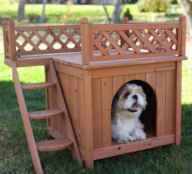 Домики для собак своими руками фото